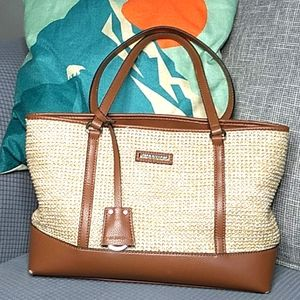 Beatifull Brown purse and tan Dana Buchman